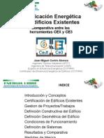 Certificacion Energetica CE3 vs CEx