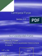 5-3 Centripetal Force