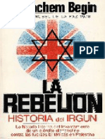 La rebelión - Menachem Begin