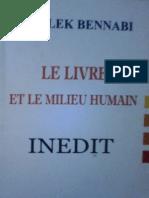 Le Livre et Le Milieu Humain Malek Bennabi