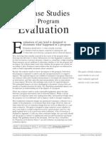 Using Case Studies to Do Program Evaluation