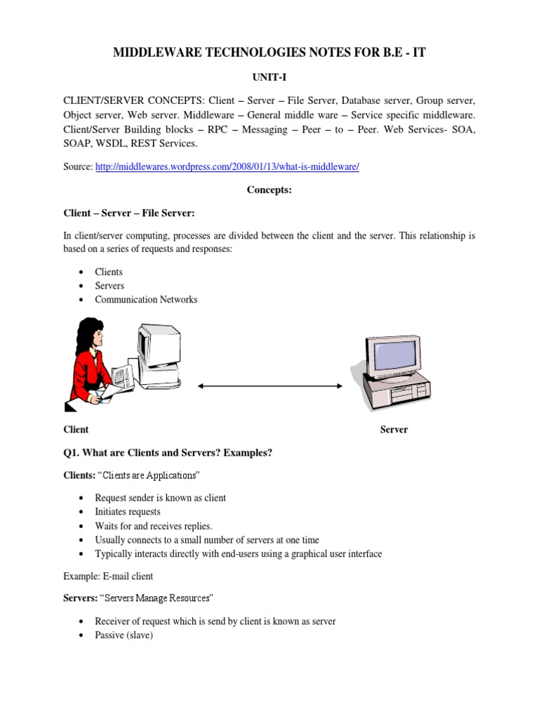 Middleware technologies be notes by sangu service oriented middleware technologies be notes by sangu service oriented architecture java server pages baditri Image collections