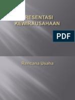 Presentasi Kewirausahaan