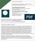 Hydrogen Bond Update by Jeffrey
