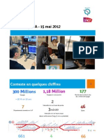 Presentation de La RATP Et de La SNCF Au Comite de Ligne Du RER a Du 15 Mai 2012