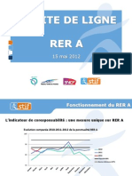 Presentation Du STIF Au Comite de Ligne Du RER a Du 15 Mai 2012