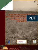 Plan de Acción Lucha contra Desertificacin en Guatemala