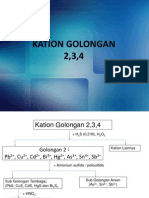 Kation Golongan 2