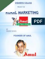Amul-Rural Marketing