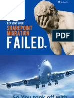 10 Reasons Your MS SharePoint Migration Failed