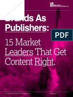 Brands As Publishers White Paper