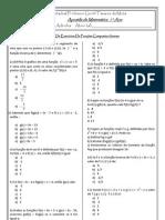 Exercicio-funcoes Composta e Inversa