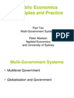 Multi-government systems