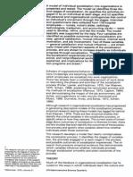 A Contingency Theory of Socialisation Feldman