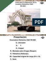 Curso Operacion Excavadora Hidraulica Rh90c Terex
