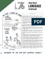 The First SAM76 Language Manual (Language Similar to TRAC)