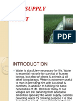 Water Supply Ppt