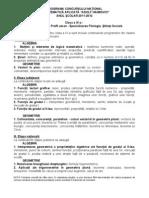Programa Haimovici Filologie + Stiinte Sociale Final 2012