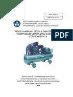 Perbaikan Kompresor Udara Dan Komponen Komponennya