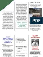 Embick Campaign Brochure