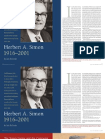 Herb Simon Article