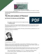 Fibonacci's number