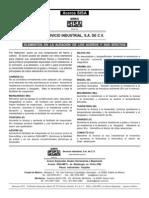Aceros SISA Elementos en La Aleacion de Los Aceros Especiales