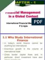 Chapter 1 international financial managment