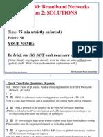 Bon2003 Exam2 Solutions