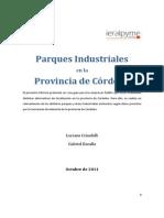 Parques Industriales en La Provincia de Cordoba