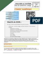 Cours Sur La Numeration-codage