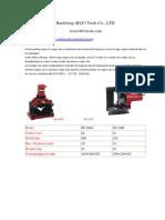 CB Hydraulic Metal Plate Bending Tools Serie