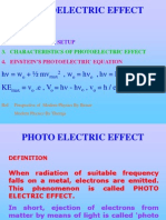 Einstein Photoelectric Effect