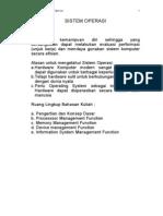 Konsep Dasar Sistem Operasi (Bag-1)