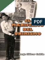 09. Manifiesto del Unirismo - Jorge Eliécer Gaitán