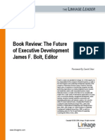 Book Review the Future of Executive Development