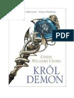 Chima Cinda Williams - Siedem Królestw Tom 1 - Król Demon