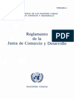 Reglamento del Consejo de Administración del Programa de las Naciones Unidas para el Desarrollo