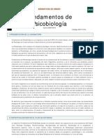 FundPsicobiologia Guia