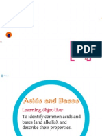Acids and Bases IGCSE Chemistry