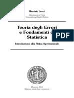 Teoria Degli Errori e Fondamenti Di Statistica (M. Loreti Dic 2010)