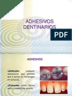 11 Semana- Adhesivos Dentarios