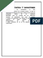 ELECTROSTATICA Y CAPACITORES ANTECEDENTES.docx