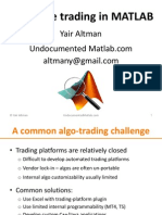 Matlab Real-time Trading Presentation