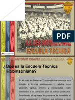 Presentacion Escuela Tecnica Jose a Chavez 2013