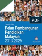 Pelan Pembangunan Pendidikan 2013-2025