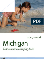 Michigan LCV Education Fund - Environmental Briefing Book - 2007-2008