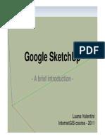 Googles Sketchup 8