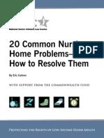 20 Common Problems Nov 2010 Final