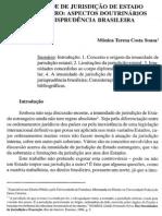Imunidade de Estado Estrangeiro - Materia Trabalhista